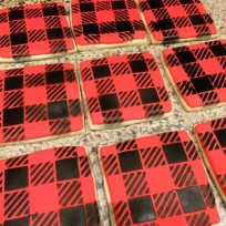 Buffalo Plaid Sugar Cookies