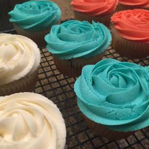Marble Cupcakes with Buttercream