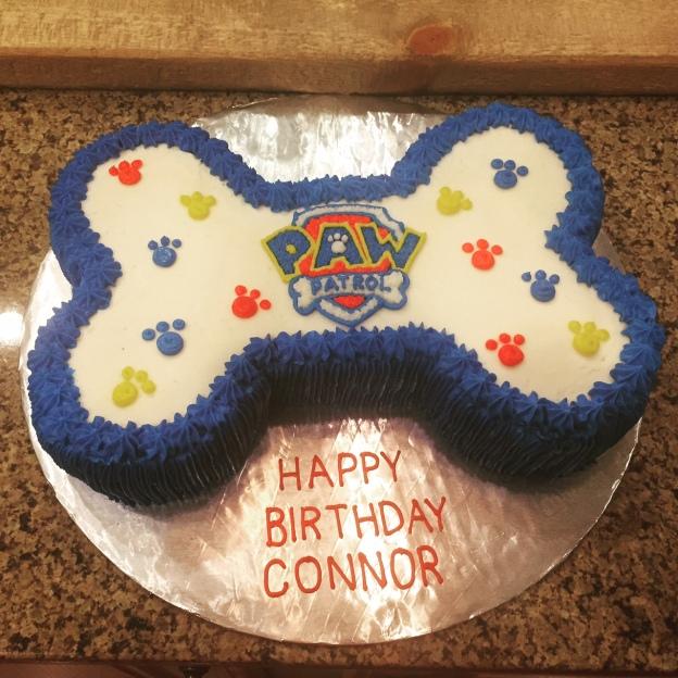 Patroller Birthday Cake