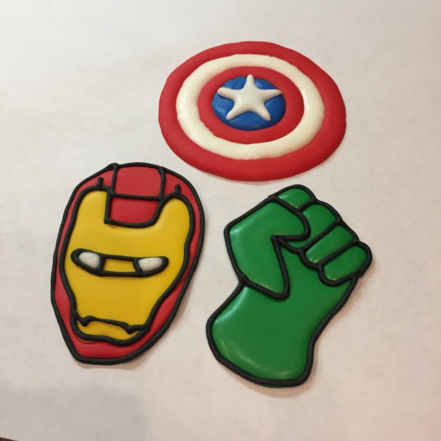 Avenger Cupcake Toppers