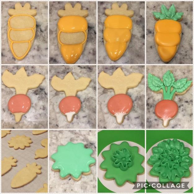 garden cookie tutorial